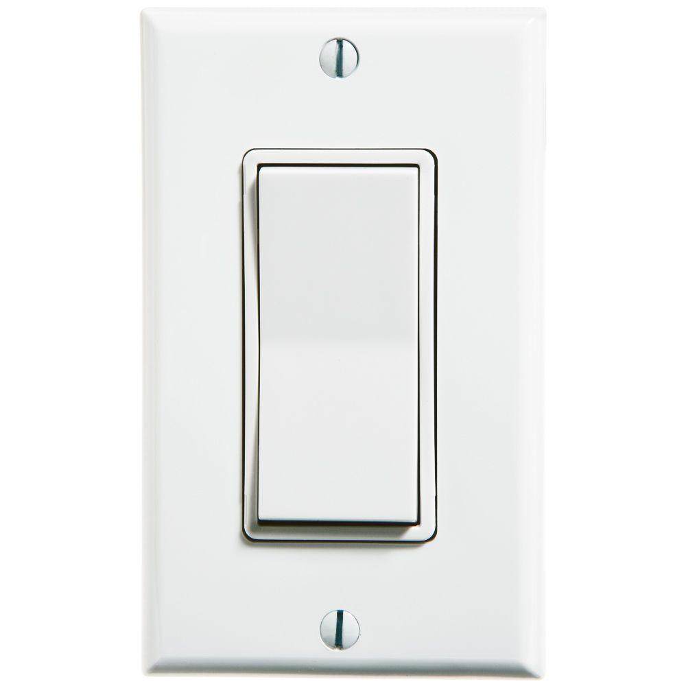 Wireless Light Switch (self-powered) – 3fficient